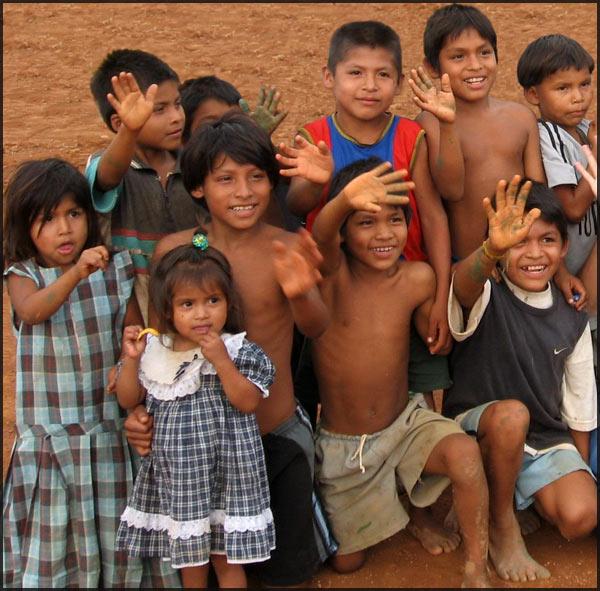 Shuar Children